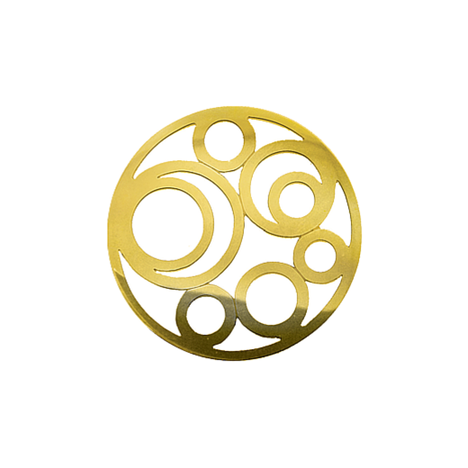 Virtue Keepsake 32mm Gold Circle Cut Out Disc