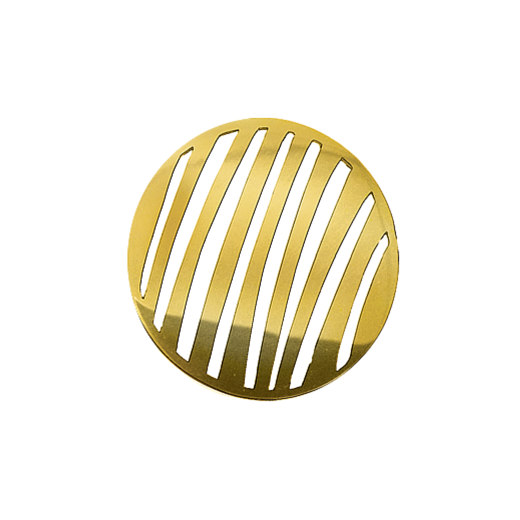 Virtue Keepsake 32mm Gold Stripe Cut Out Disc