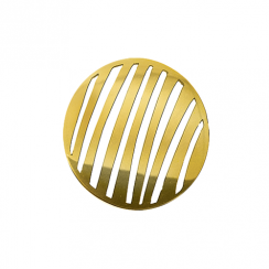 32mm Gold Stripe Cut Out Disc