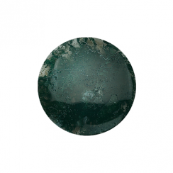 32mm Moss Agate Disc