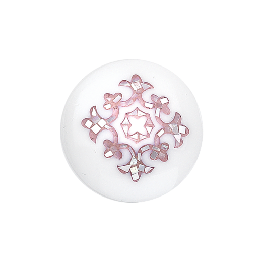 Virtue Keepsake 32mm Mother of Pearl Pink Inlay Disc