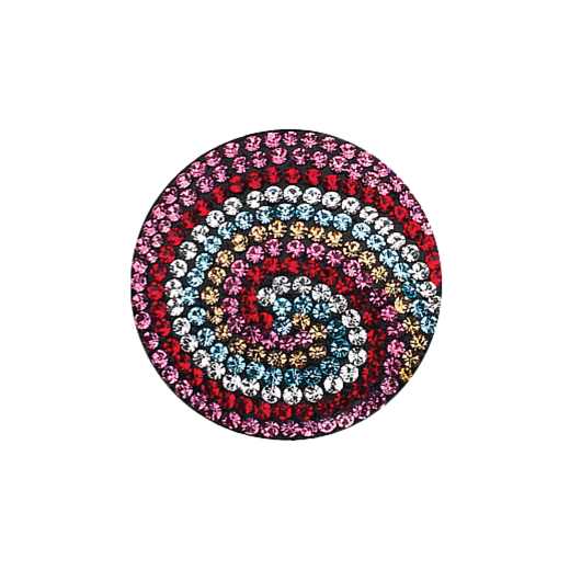 Virtue Keepsake 32mm Multi Swirl Crystal Disc