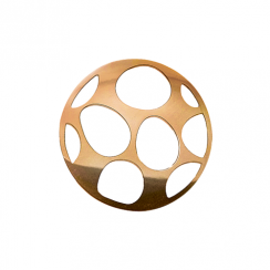 32mm Rose Gold Egg Cut Out Disc