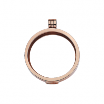 32mm Rose Gold Locket