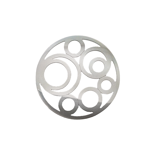 Virtue Keepsake 32mm Silver Circle Cut Out Disc