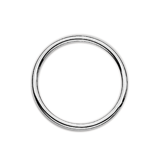Virtue Keepsake 32mm Silver Dividing Ring Floating Charm Collection