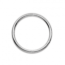 32mm Silver Dividing Ring Floating Charm Collection
