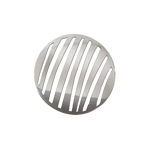 Virtue Keepsake 32mm Silver Stripe Cut Out Disc