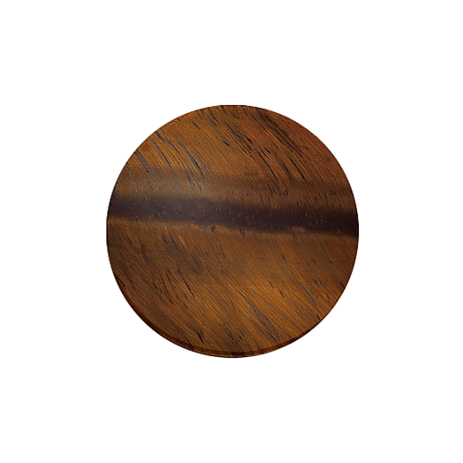 Virtue Keepsake 32mm Tiger's Eye Disc