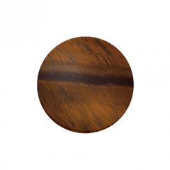 32mm Tiger's Eye Disc