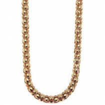 76cm Rose Gold Popcorn Chain