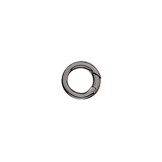 Black Ruthenium Plated Silver Jump Ring