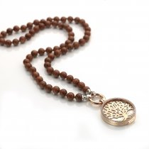 Complete Rose Gold Tree of Life Locket Set