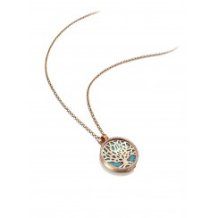 Complete Turquoise Tree of Life Locket