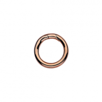 Large Rose Gold Connecting Ring