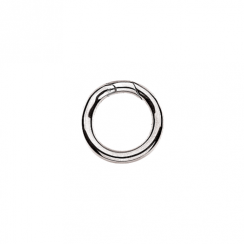 Large Silver Connecting Ring