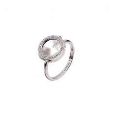 Silver 10mm Interchangeable Locket Ring