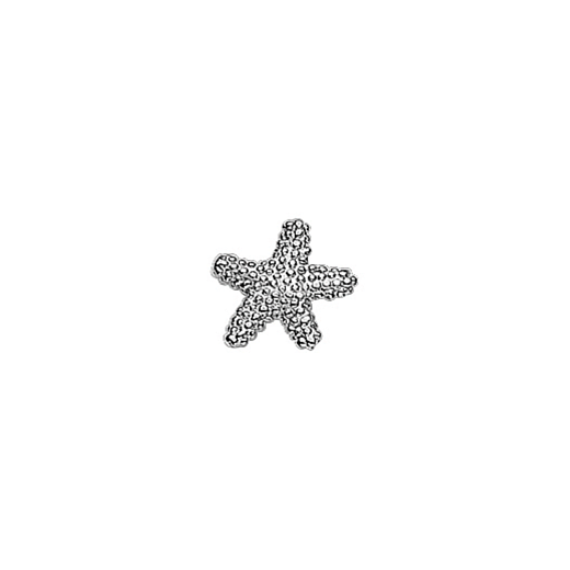 Virtue Keepsake Silver Starfish Floating Charm