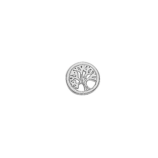 Virtue Keepsake Silver Tree of Life Floating Charm