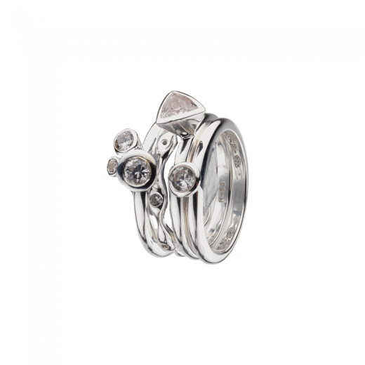 Virtue Stack Rings Billionaire Stacking Ring Collection