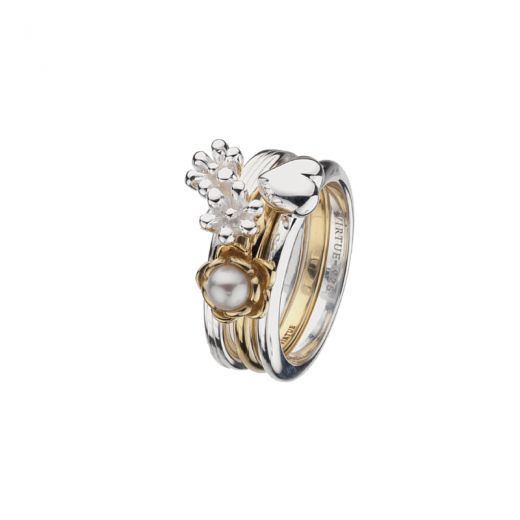 Virtue Stack Rings Bouquet Stack Rings Collection
