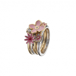 Cherry Blossom Stack Ring Collection