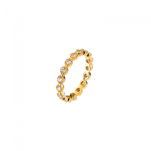 Virtue Stack Rings Cosmic Trail Gold