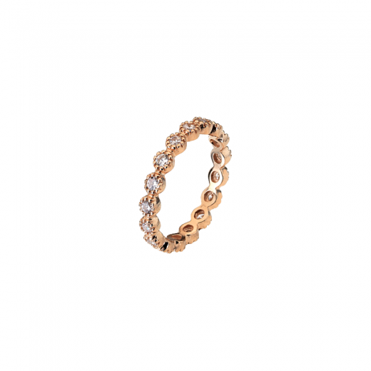 Virtue Stack Rings Cosmic Trail Rose Gold