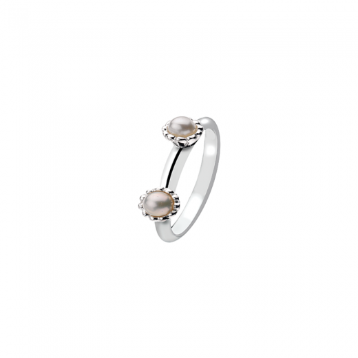 Virtue Stack Rings Double Blossom