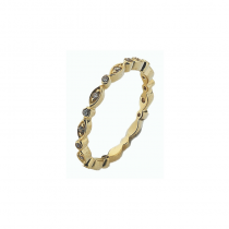 Fairy Ring Gold Stack Ring