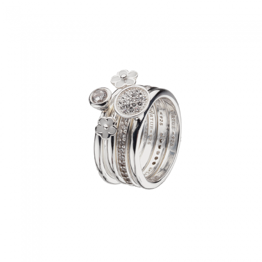 Virtue Stack Rings First Frost Stack Ring Collection