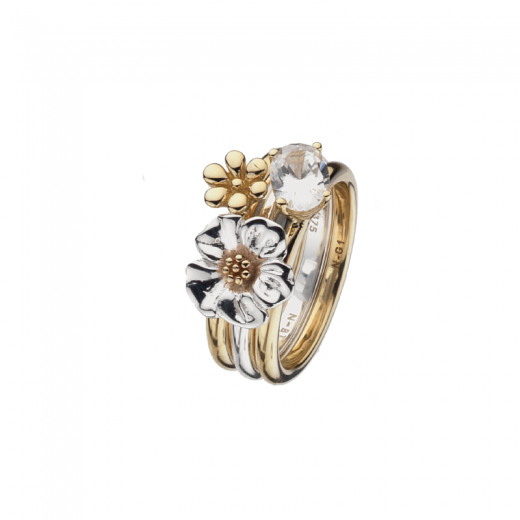 Virtue Stack Rings Flora Stack Rings Collection