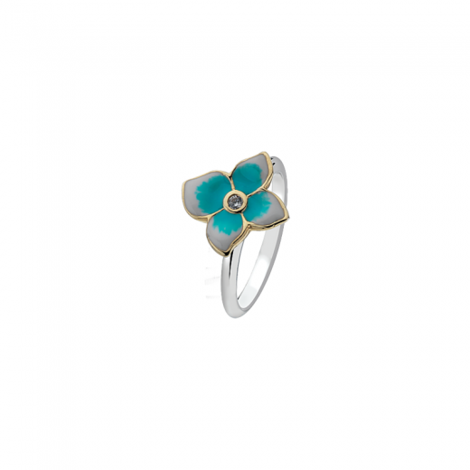 Virtue Stack Rings Forget Me Not