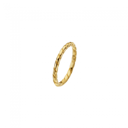 Virtue Stack Rings Gold Rope