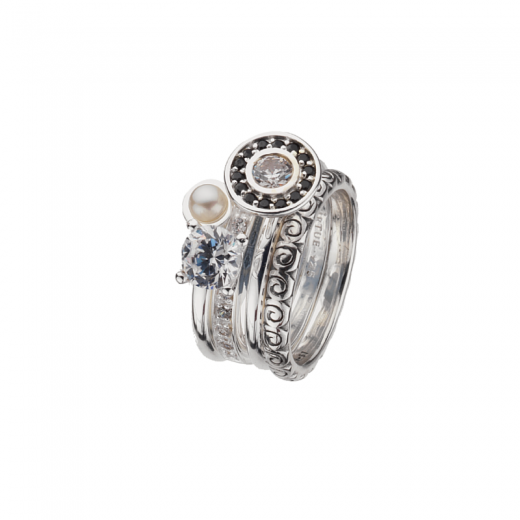 Virtue Stack Rings Ice Princess Stack Rings Collection