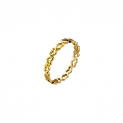 Juliet Gold Stack Ring