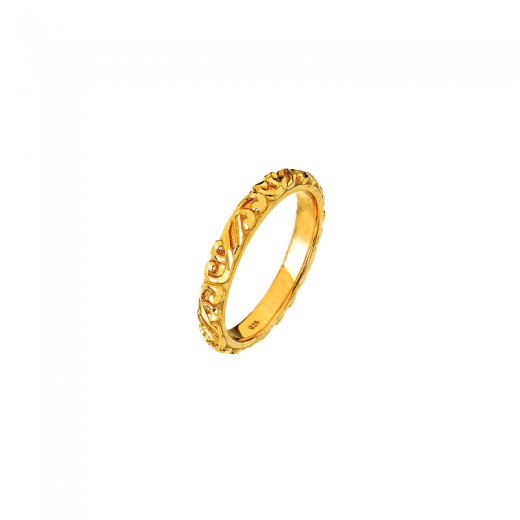 Virtue Stack Rings Link Gold