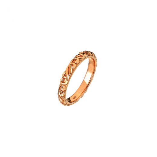 Virtue Stack Rings Link Rose Gold