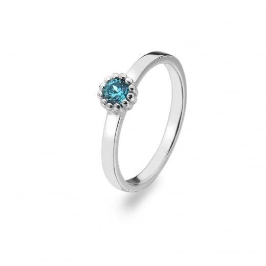 Virtue Stack Rings March Birthstone