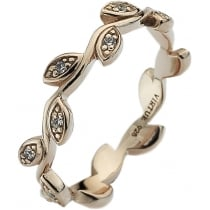 Virtue Stack Rings Olive Rose