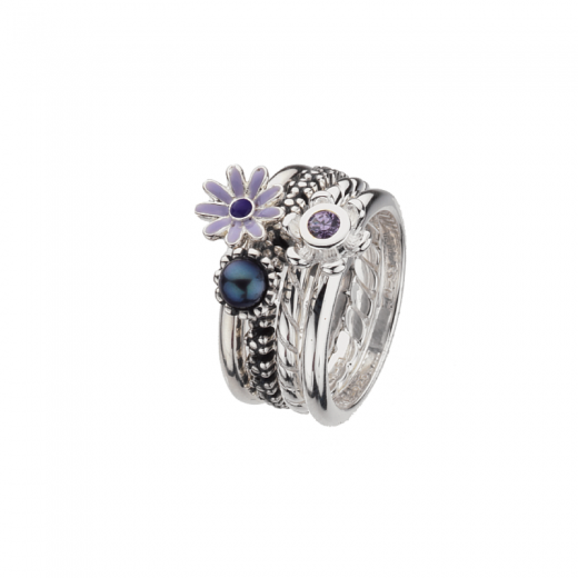 Virtue Stack Rings Paradise Stack Ring Collection