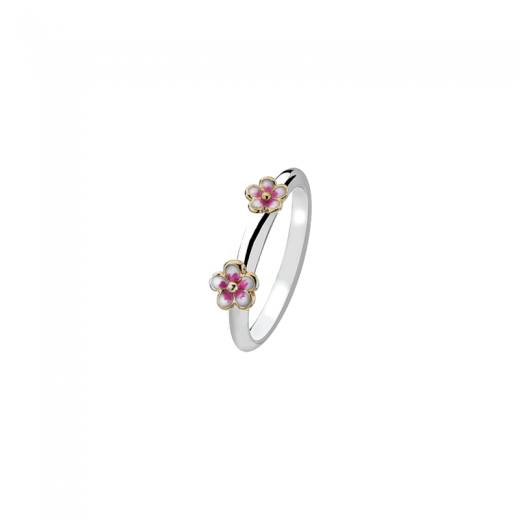 Virtue Stack Rings Pink Blossom