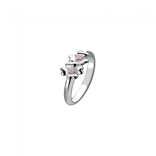 Virtue Stack Rings Pink Carnations