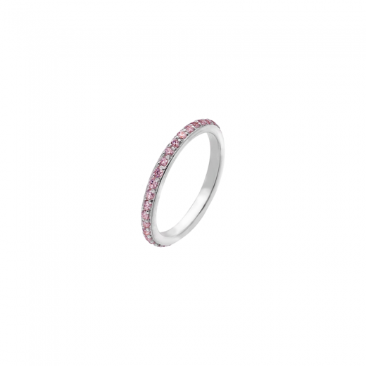 Virtue Stack Rings Pink Eternity