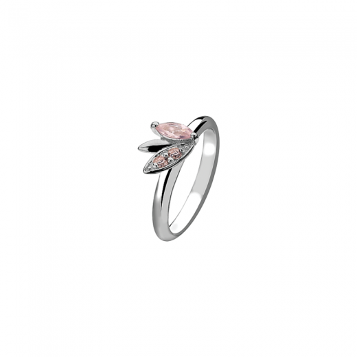 Virtue Stack Rings Pink Mist