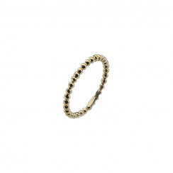 Polka Gold Stack Ring
