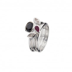 Pure Passion Stack Rings Collection