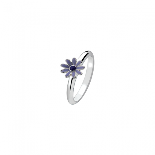 Virtue Stack Rings Purple Daisy