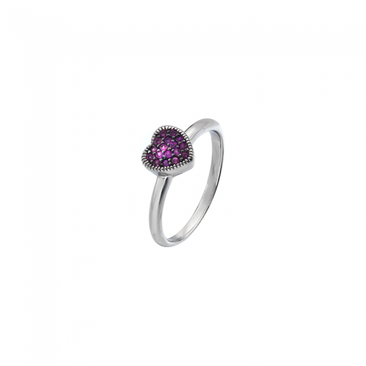 Virtue Stack Rings Purple Heart