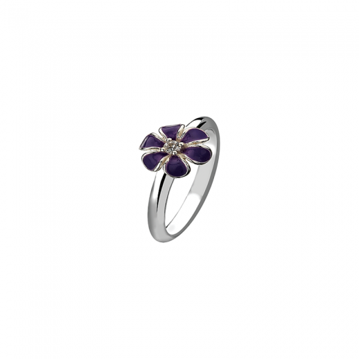 Virtue Stack Rings Purple Pansy